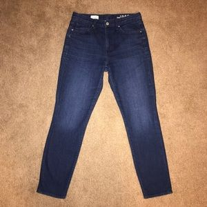Perfect! Gap High Rise Skinny Jeans Size 28s (6s)